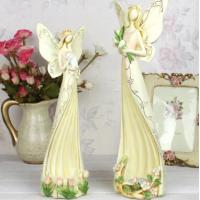China Angel polyresin candle holder wedding gifts wholesale