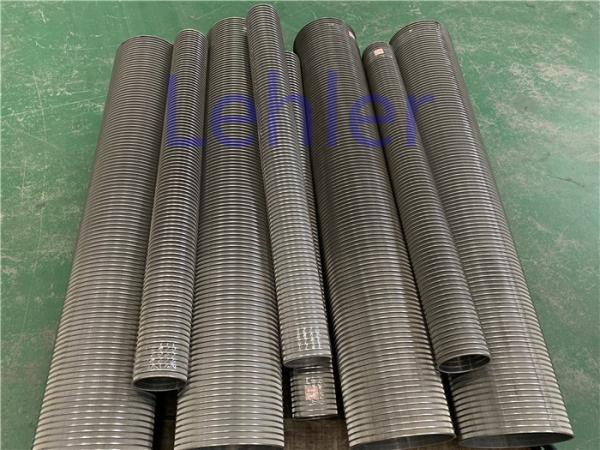 Quality Lehler Wedge Wire Screen Cylinders , Vertical Johnson Vee Wire Screen for sale
