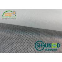 China Raw Material PP Spunbond Non Woven Fabric / Shopping Bags Polyester Spunbond Nonwoven Fabric wholesale