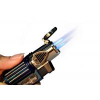 Buy cheap Gas Plastic Material Inflatable Cigar Lighter Three Flame With Multi Function from wholesalers
