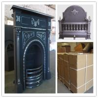 China price for cast iron indoor fireplace on sale