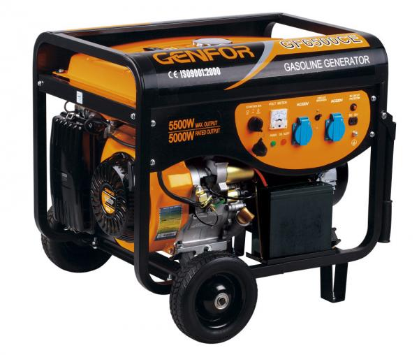 Quality EPA CE Certificate Portable Gasoline Generator Electric Start High Power for sale