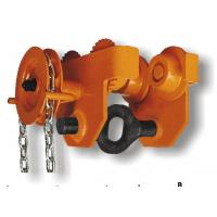 China 0.5T-30T Capacity GCL 620 Series Geared Single Trolley Manual Chain Hoist For Warehouses wholesale