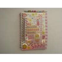 China Customized 350g white card 4c print cover spiral notebook stationery Sets with two shape wholesale