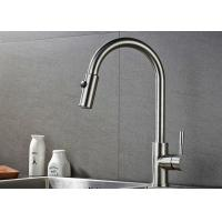 China ROVATE 2 Way Pull Down Kitchen Basin Faucet 360 Degree Rotation CE Approved wholesale