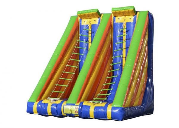 Quality Race Inflatable Sports Games Outdoor Toys Blow Up Ladder Climb Capacity 2 Persons for sale