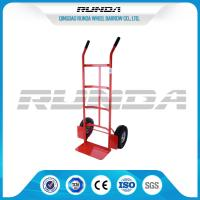 China Double Pneumatic Wheel Heavy Duty Hand Cart 130kg Max Payload Pneumatic Tyres wholesale