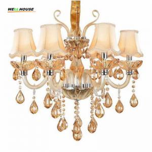 Buy cheap Luxury Crystal chandelier lighting For Living Room lustre sala de jantar cristal Modern Chandeliers Light Fixtures from wholesalers