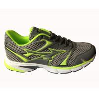 China Athletic running shoes D.K grey/green color,barefoot wearing wholesale