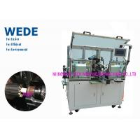 China 2 Flyers Slot Air Coil Winding Machine , Armature Auto Winding Machine wholesale