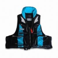 China Fishing Vest with EPE Form, Four Front Pockets and 2.5cm Webbing wholesale