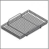 plain steel Wire Baskets with Handles