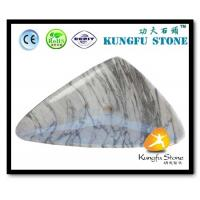 China Xiamen Kungfu Stone Ltd supply Triangle White Marble Sink In High quality and cheap price wholesale
