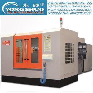 China 450*450mm Horizontal CNC Machining Center Exchange Workbench Horizontal CNC Lathe on sale