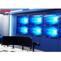 China Flexible 3x3 Video Wall TV Screens , Rich Color Video Wall Lcd Monitors on sale