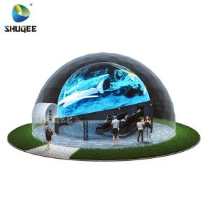 China Curved Screen 360 Dome Movie Theater With 4DM Electric Motion Seats For Museum,Theme Park wholesale