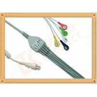 Snap Colin BP88S 5 Lead Ecg Cable Insulated Type Ecg Lead Cable