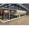 China 20cbm 20000 Liters Large LPG Storage Tanks High Strength With Dispenser Equipment wholesale