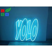 China Illuminated LED Channel Letter Signs Shaped Soft Advertising Neon Light For Bar Sign wholesale