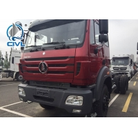Buy cheap New Beiben 6x6 6x4 Cargo Truck Chasssis With Good Quality And Price red color from wholesalers
