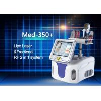 China Perfect Combination Fractional RF And Diode Lipo Laser Machine High Efficiency wholesale