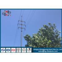 China Durable Electrical Power Pole Electric Telescoping Pole For Transmission Line wholesale