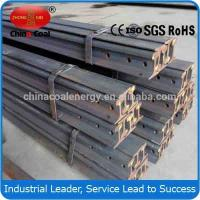China GB2585-81/QB 15 kgs light steel rail for railway wholesale