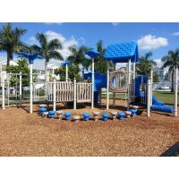Different Color Residential Playground Equipment Unique Outdoor Play Equipment for sale