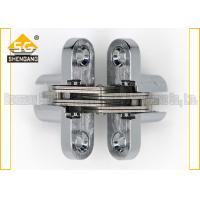 Buy cheap Hidden Cabinet Jewelry Box Small Hinges Folding Door Hardware Of Zinc Alloy from wholesalers