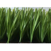 China Nice Looking Sports Soccer Artificial Grass Synthetic Turf With Abrasive Resistance wholesale