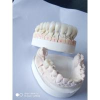 Buy cheap Crown & Bridge Fabricating Dentures With PFZ Technique Offfering Full English from wholesalers