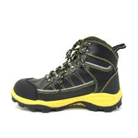 China Microfiber Toe Box Caterpillar Safety Boots Waterproof Standard SB ISO Approved on sale