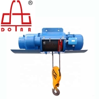 China 5 Ton Electric Hoist Wire Rope Crane Double Girder 3Ph 380V for Warehouse on sale