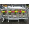 Steel Crowd Barrier Stillage Forklift Stillages for Pedestrian Barriers