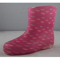 China rain boots for children on sale