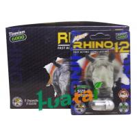 Rhino 12 6000 3D Herbal Sex Pills for Male Enhancer , 100% healthy
