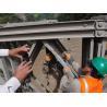 China Galvanized Prefabricated Steel Bridges , Manpower Assembling Temporary Pedestrian Bridge wholesale