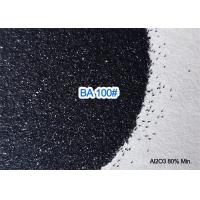 China 8.0 Mohs Black Aluminium Oxide Blasting Media Abrasive 3.50g / Cm3 Trigonal Crystal Structure wholesale