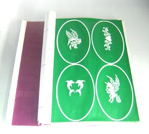 Quality airbrush tattoo stencil for sale