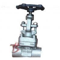 China 3/4 Inch Industrial Globe Valve 800LB , Forged Stainless Steel Globe Valve wholesale