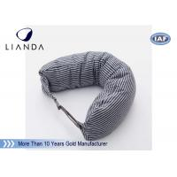 Car Accessories Gray Neck Travel Pillow , Memory Foam Head Pillow With Different Color