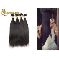 China 100% Raw Unprocessed Indian Human Hair Weave , Silky Straight Human Hair Bundle on sale