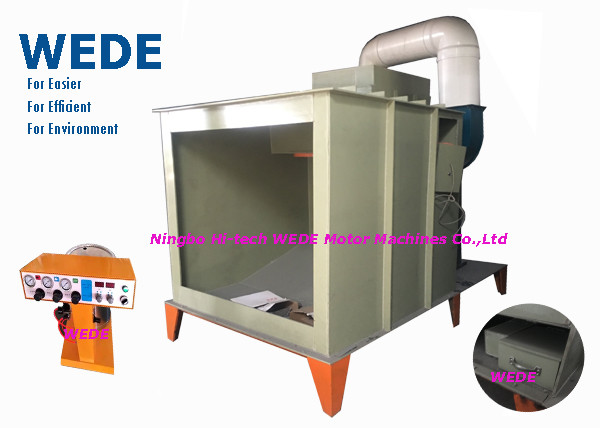 Quality Electro Static Powder Coating Machine For Irregular Shape Parts Manual Model for sale