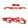 China Fashional Polarized 3 Dimensional Glasses For Celebration OEM ODM Service wholesale
