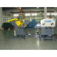 China Pneumatic Metal Coil Uncoiler 22 Ton Decoiler , Short Bar Automatic Feeder wholesale