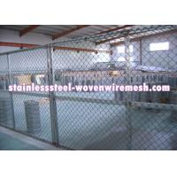 China FLAT / CRIMPED Gray Inconel Knitted Metal Mesh Plain Weave Wire Diameter 0.008 - 0.011  on sale