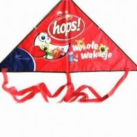 China Promotional kite, made of 190T polyester wholesale