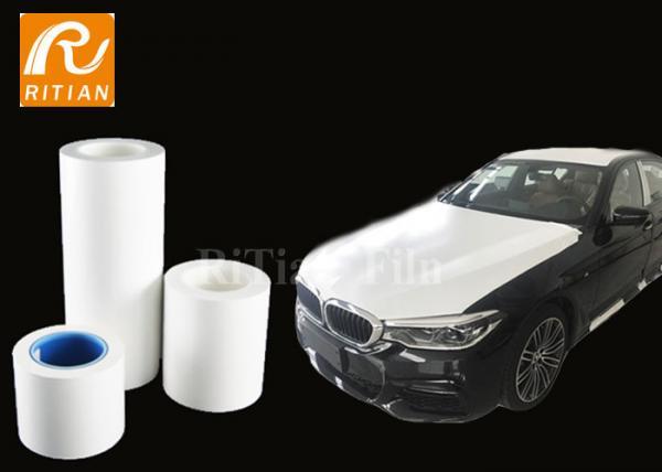 Quality Car Paint Protective Plastic Film , Automotive Surface Protection Film 100 Meter for sale