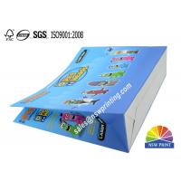Quality Custom Recyclable 210g Art Paper Colorful Paper Bag For Children'S Toys Gifts for sale