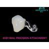 China Easyball Scop Dental Attachments Cobalt Chromium Material Reducing Stress wholesale